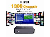 Mag 250 with 12 months IPTV