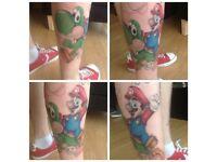 Tattoo full sleeve (arm)