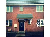 2 bed new build close to bus station and town centre for 3 bed anywhere considered