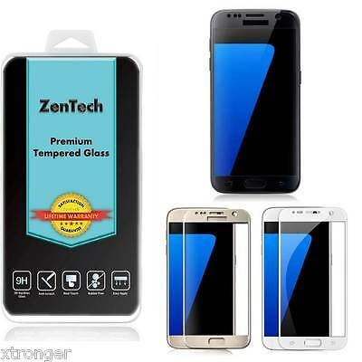 Изображение товара 2X ZenTech Tempered Glass [FULL COVER] Screen Protector For Samsung Galaxy S7