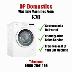 We rent sell and repair washing machine appliances