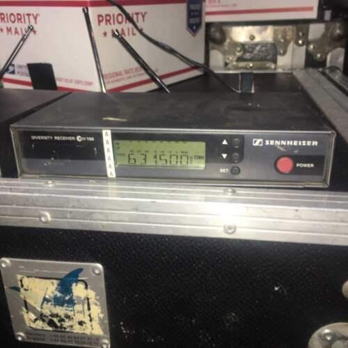 Sennheiser Ew 100 G1 em 100 receivers 2 available