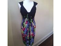 Lovely floral summer dress UK size 10