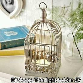 Birdcage Tea~Light Holder