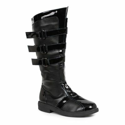 Mens Black Darth Vader Star Wars Kylo Ren Dark Knight Batman Boots 9 10 11 12 13 - Darth Vader Boots