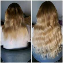 Pre bonded Keratin/ Tape/ Weft hair extensions Perth Northern Midlands Preview