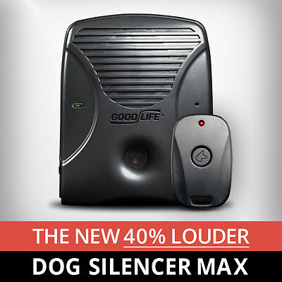 Dog Silencer® MAX - Maximum Training For The Most Stubborn Barking Dogs