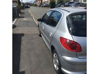 *Peugeot 206 1.4l. well maintained, economical and low mileage car. FREE 10 month MOT!!*