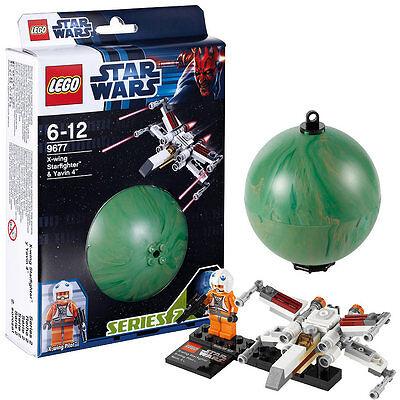 LEGO Star Wars 9677 X-Wing Starfighter Raumschiff Pilot Yavin 4 Planet Kugel online kaufen