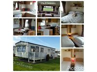 8 berth 3 bedroom hire/rent on Waterside Leisure Park Ingoldmells B2