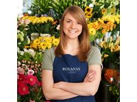 Sales Assistant for a Luxury Flower and Gifts Store (immediate start)