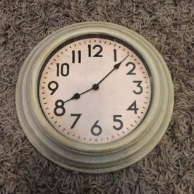 shabby chick clock