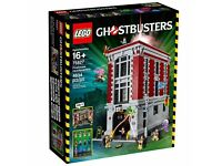 Lego Ghostbusters Firehouse Headquarters 75827 New and Sealed