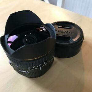 Sigma 15MM F2.8 Fisheye for Canon