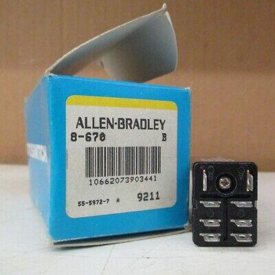 Allen Bradley Photoswitch 8-670 Series B Lot Of 2