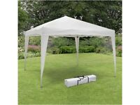 White gazebo for sale (only used once)