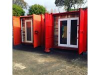 Shipping Container Studio's to let Canton/Ely