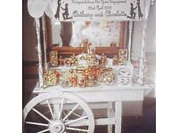 Sweet Cart for SALE - decorations, jars, scoops and tongs included £450