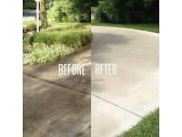 Driveway Pressure Washing/Sanding.