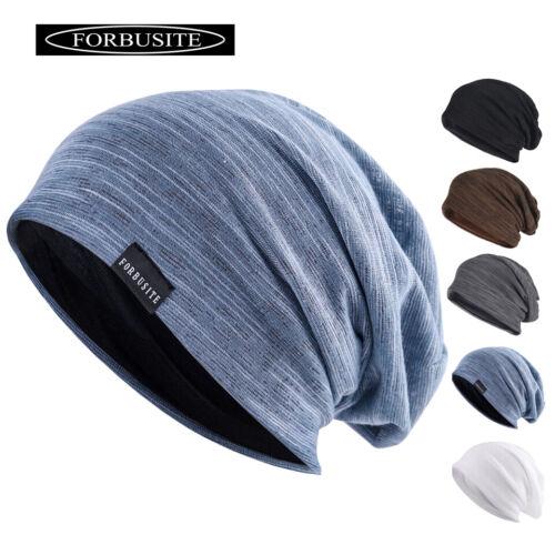 Mütze Mützen Strickmütze Slouch Beanie Herren Damen Sommer Dünn Hut Trend B011H