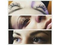 Beauty therapist! Eyelash extensions, spray tanning, gel polish ect