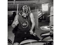 Drum teacher, first lesson free !