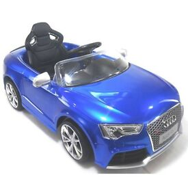 Audi RS5 12v with remote control (RRP: 249.99)