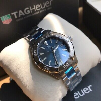 TAG Heuer Aquaracer Men's Blue Watch - WAY1112.BA0928