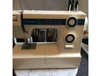New home janome heavy duty electric sewing machine model 346
