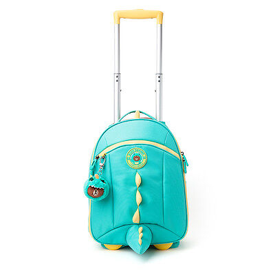 [LINE FRIENDS] DINO BROWN Trolley Luggage Carry-on Backpack Spinner for Kids