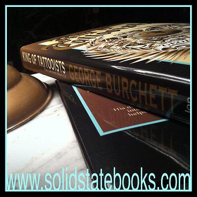 King Of Tattooists, George Burchett, Book, Vintage Tattoo Flash, 1st Edition