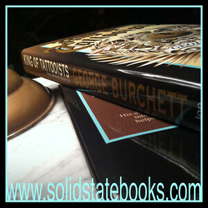 King-Of-Tattooists-George-Burchett-Book-Vintage-Tattoo-Flash-1st-Edition