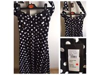 Polka Dot Pin Up Dress