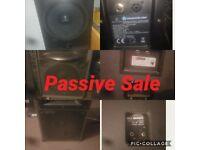 all passive speakers £400ono