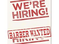 BARBER WANTED !!