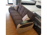 -- SAME DAY DELIVERY -- NEW GAMA 3 SEATER SOFA -BED WITH STORAGE INSIDE --