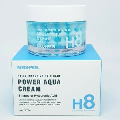 Medi Peel Power Aqua Cream 50g Moisturizing Nourishing Capsule Smooth K-Beauty