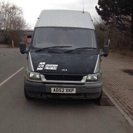 Spares or repairs ford transit lwb 125psi