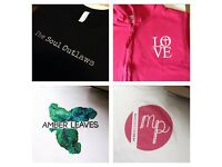 Custom T-Shirt Printing (Hen & Stag Dos, Gifts, Uniforms, Custom Designs, Merchandise etc)