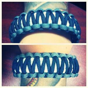 Cowboy Survival Bracelet King Cobra With Buckle