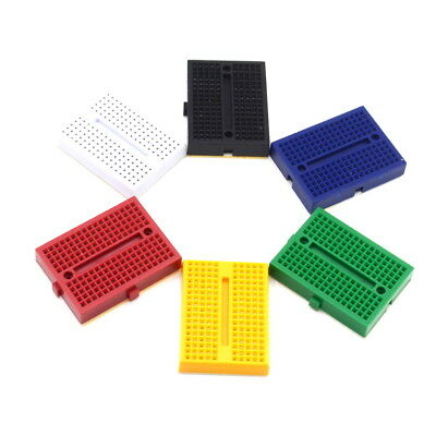 6pcs Mini Solderless Prototype Breadboard Syb-170 170 Tie-points For Arduino