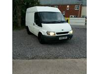 02 Ford Transit mid roof 12 months mot
