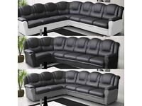 Beautiful leather corner sofa. Amazing quality. HAND – CRAFTED IN BRITAIN