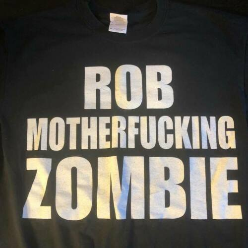 ROB ZOMBIE~Two-Sided T-Shirt(Metal/Thrash/Punk/Grunge/White Zombie)Gildan/SIDE M