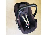 Maxi Cosi Pebble car seat from smoke-free home