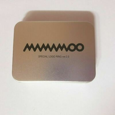 """K-POP MAMAMOO Concert """"CURTAIN CALL"""" Official Limited Logo Ring Ver 2.0"""