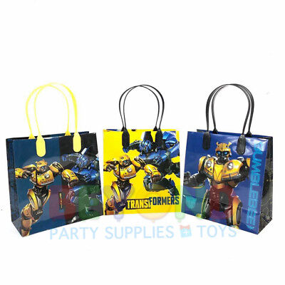Transformers Birthday Party Favor Goody Gift Candy Treat Loot Birthday Bags - Birthday Favor Bags