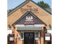Part time waiting staff required for The Riverside Inn