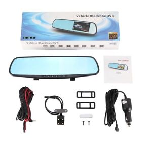 """4.3"""" rear view mirror DVR with rear view lens"""