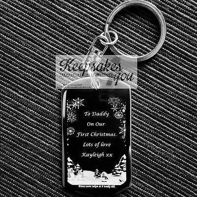 Personalised Photograph OR Prints Dog Tag Keyring - Christmas Gift With Design ](Print Halloween Gift Tags)